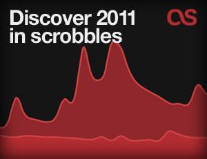 Descubra 2011 nos scrobbles