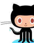 Mascote gato-polvo do GitHub