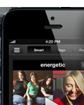 Capture d'écran du Scrobbler pour iOS